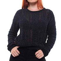 Suéter Tricot Feminino Crocker - 47383 - Preto
