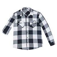 Camisa Hering Xadrez Flanela Com Bolsos Masculina - Branco