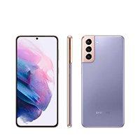 "Smartphone Samsung Galaxy S21+ 128GB Violeta 5G - 8GB RAM Tela 6,7"" Câm. Tripla + Selfie 10MP"