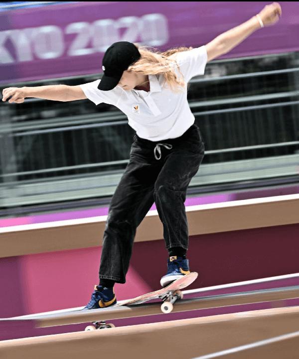 Lore Bruggeman - 2021 - olimpíadas - skate - toquio - https://stealthelook.com.br