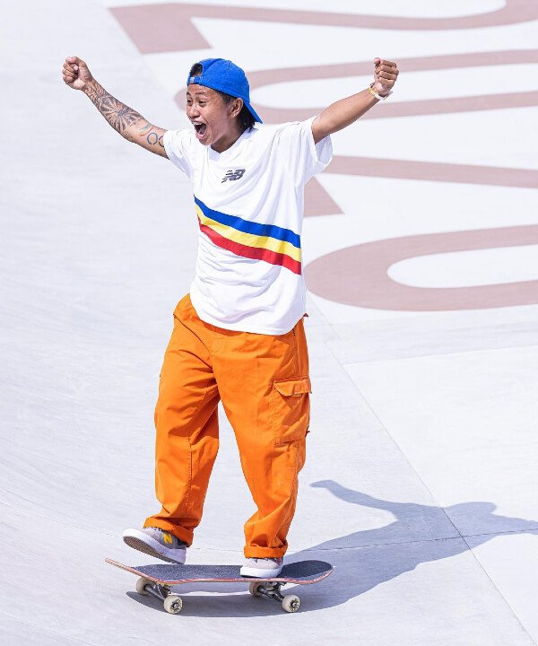 Magielyn Didal - 2021 - olimpíadas - skate - toquio - https://stealthelook.com.br