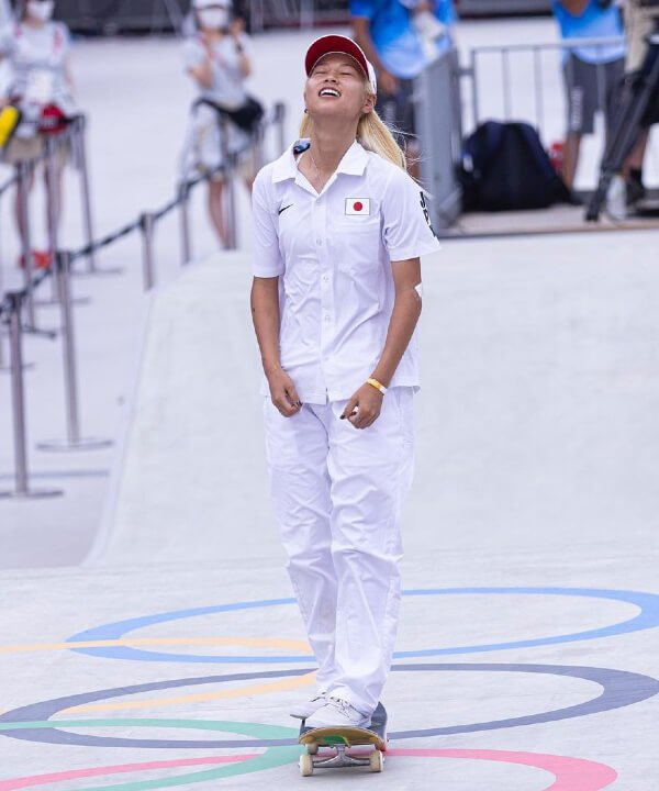 Aori Nishimura - 2021 - olimpíadas - skate - toquio - https://stealthelook.com.br