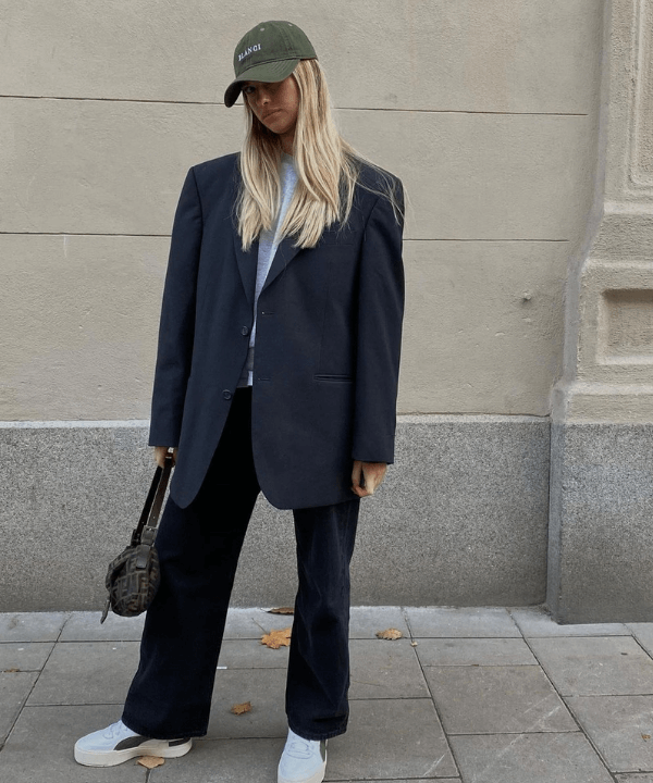 Ida Sjunnesson - Street Style - boné de beisebol - Inverno  - Steal the Look  - https://stealthelook.com.br