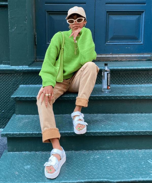 Alana Figueroa - Street Style - boné de beisebol - Inverno  - Steal the Look  - https://stealthelook.com.br