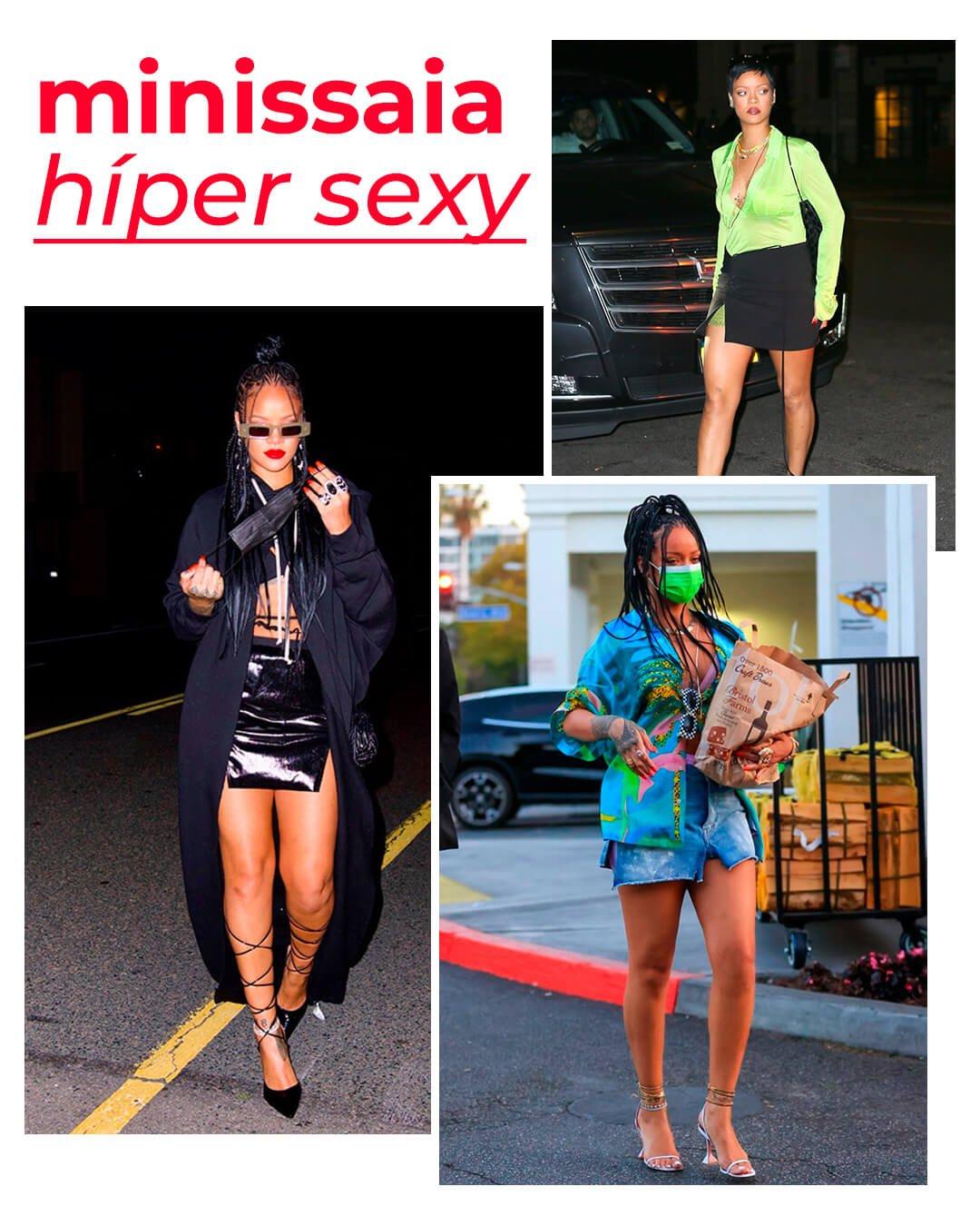It girls - Rihanna - Rihanna - Inverno - Street Style - https://stealthelook.com.br