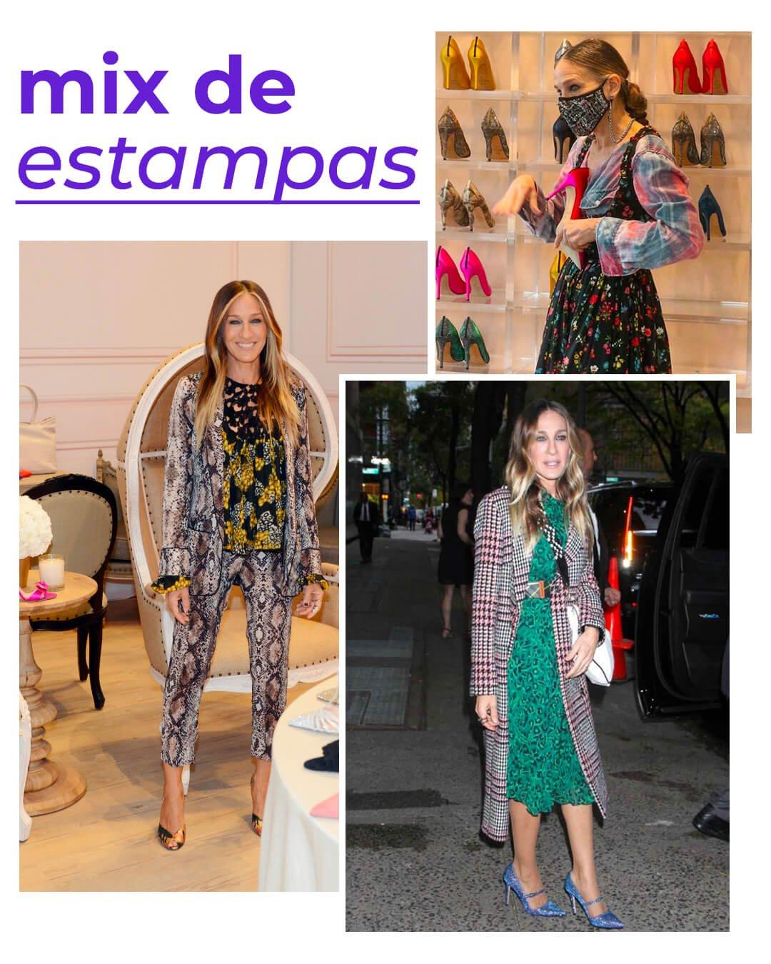 It girls - Sarah Jessica Parker - Sarah Jessica Parker - Inverno - Street Style - https://stealthelook.com.br