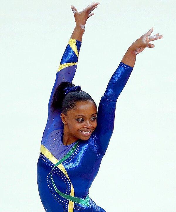 Daiane dos Santos - 2021 - olimpíadas - ginástica artística - atletas negras - https://stealthelook.com.br