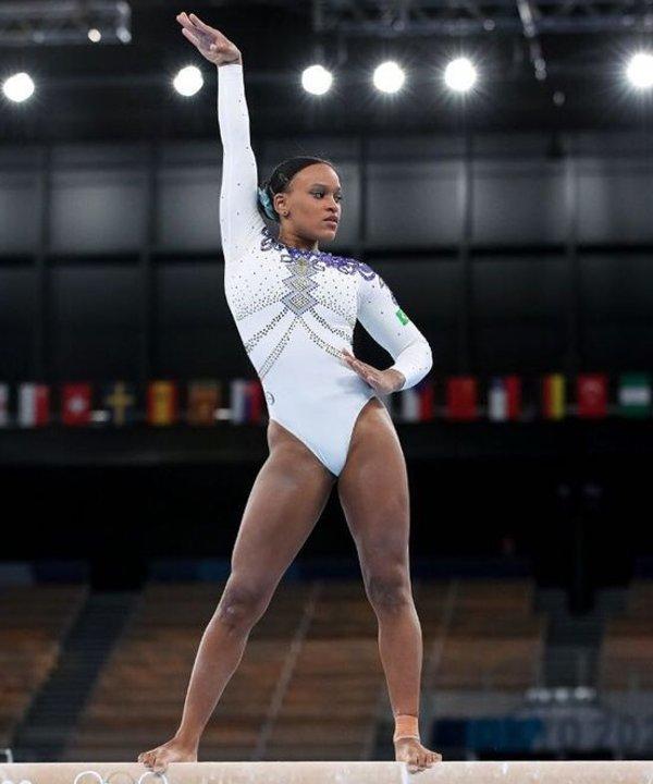 Rebeca Andrade - 2021 - olimpíadas - ginástica artística - atletas negras - https://stealthelook.com.br