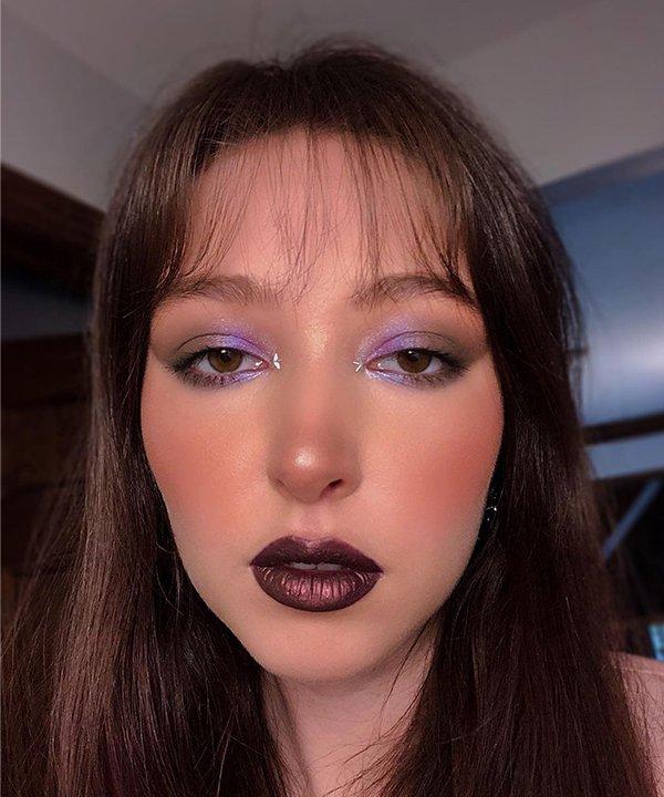 Sophia Chasin - maquiagem - batons coloridos - inverno - brasil - https://stealthelook.com.br