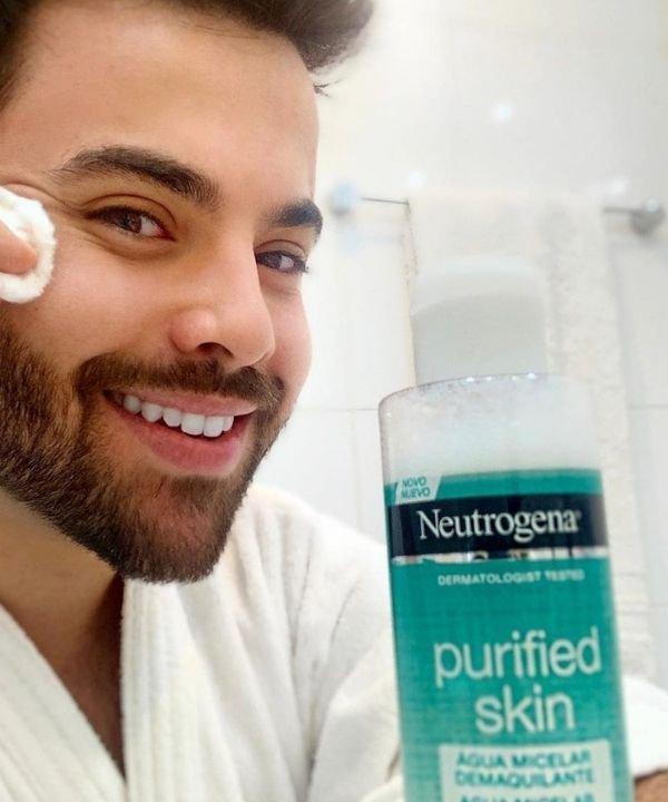 Neutrogena  - demaquilante para pele oleosa - demaquilante - pele oleosa  - limpeza profunda - https://stealthelook.com.br