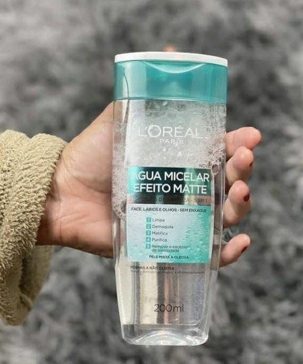 água micelar Loreal  - removedor de maquiagem  - demaquilante  - maquiagem  - água micelar  - https://stealthelook.com.br