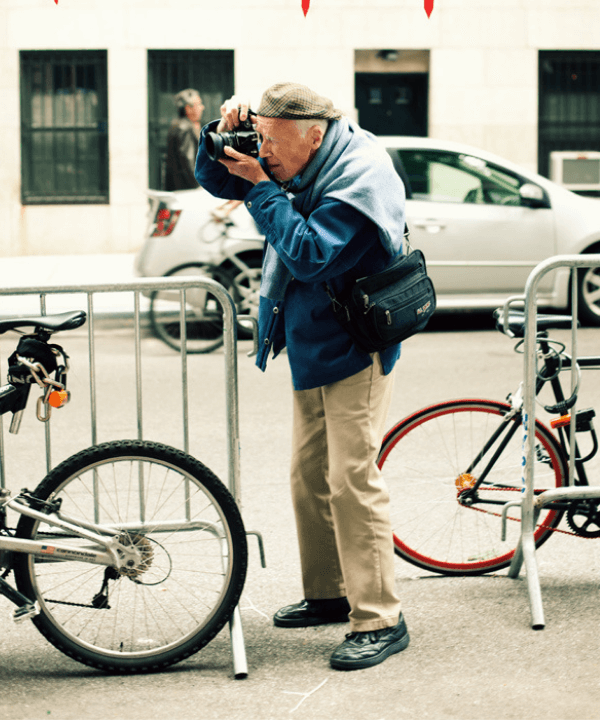 Bill Cunningham - Street Style - Bill Cunningham - Inverno  - Londres - https://stealthelook.com.br
