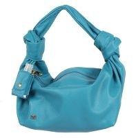 Bag feminina de ombro Azul Cobalto couro legitimo ATZ 12 - Azul