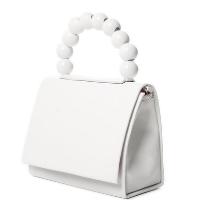 Bolsa envelope alça de bolinhas 10114999 - Branco