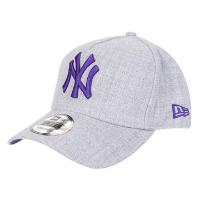 Boné New Era MLB New York Yankess Aba Curva Snapback A-Frame 9Forty - Cinza