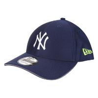 Boné New Era MLB New York Yankees Aba Curva Snapback Urban Tech Reflective Flap 9Forty - Marinho