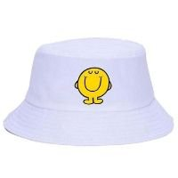 Chapéu Bucket Hat New Unissex Mr. Happy Kick - Branco
