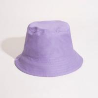 chapéu bucket hat de sarja lilás - único