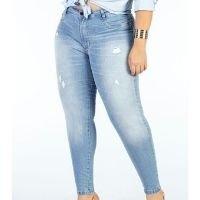 Sawary Jeans - Calça Jeans Clara Cigarrete Plus Size Sawary