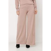 Calça Ralm Pantalona De Tricot - Nude