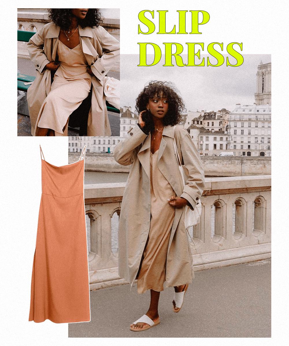 Emmanuelle Koffi - Slip Dress - tendências do Pinterest - Inverno  - Steal the Look  - https://stealthelook.com.br