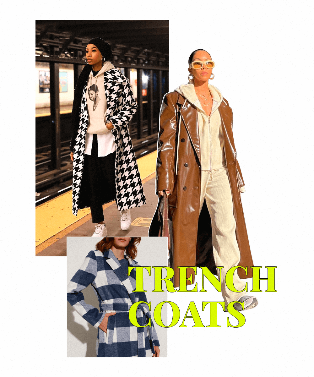 Rayya - Trench Coat - tendências do Pinterest - Inverno  - Steal the Look  - https://stealthelook.com.br