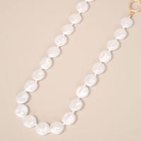 colar de pérolas off white - único