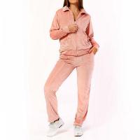 Conjunto Plush Comfy Jaqueta Mais Calça Rosa - Rosa Claro
