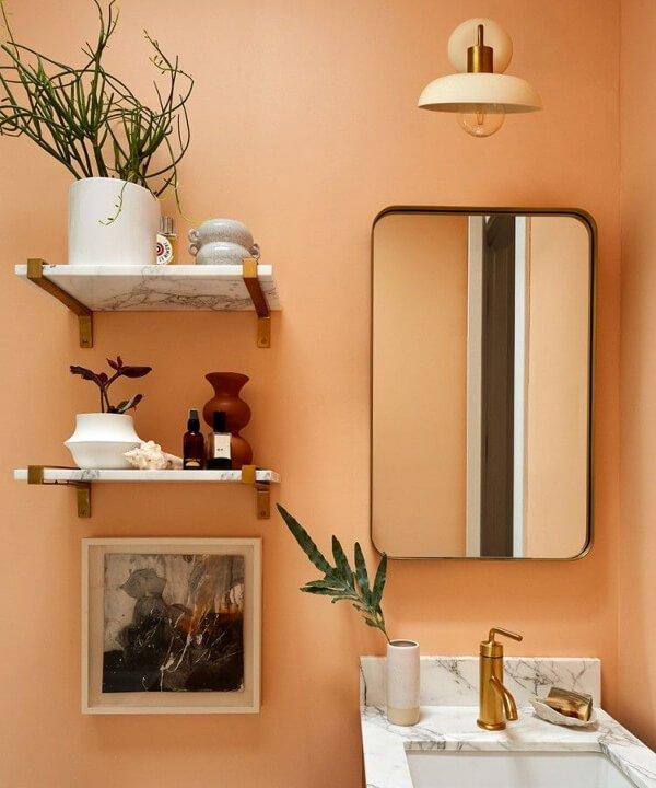 Carly Cushnie - 2021 - decoração pêssego - peach - decor - https://stealthelook.com.br