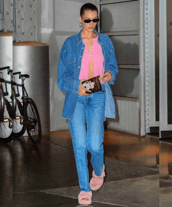 Bella Hadid - Street Style - sapato polêmico - Inverno  - Steal the Look  - https://stealthelook.com.br