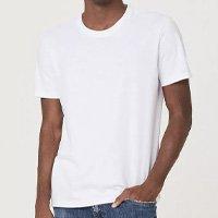 Camiseta Básica Mangas Curtas World - Branco