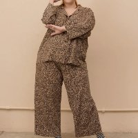 Pijama Clássico Gal Plus Size