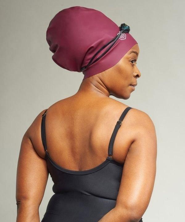 soul cap  - touca de natação  - cabelo volumoso  - touca de natação para cabelo afro  - Olimpiadas 2021 - https://stealthelook.com.br