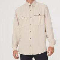 Camisa Overshirt Masculina Com Liocel - Cinza