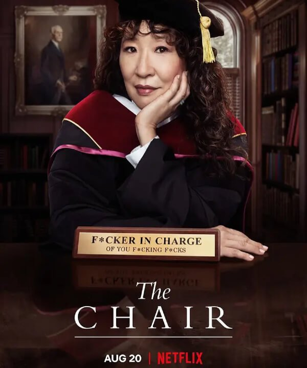 Sandra Oh - The Chair - série - netflix - agosto - https://stealthelook.com.br