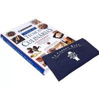 Livro Le Conrdon Bleu Todas as Técnicas Culinárias - Jeni Wright e Eric Treuille com Brinde