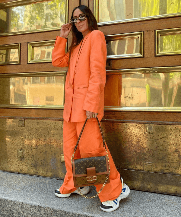 Laura Eguizabal - Look monocromático  - look social - Inverno  - Steal the Look  - https://stealthelook.com.br