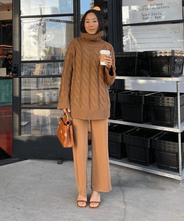 Aimee Song - Look monocromático  - looks confortáveis - Inverno  - Steal the Look  - https://stealthelook.com.br