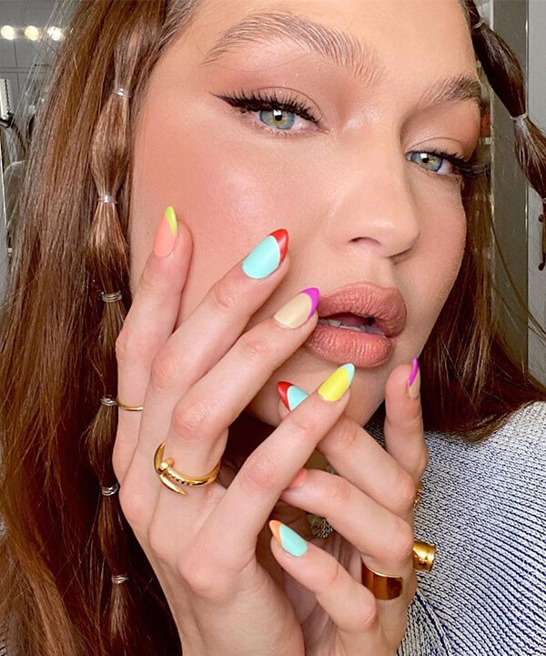Gigi Hadid - maquiagem - makes da Gigi Hadid - inverno - brasil - https://stealthelook.com.br