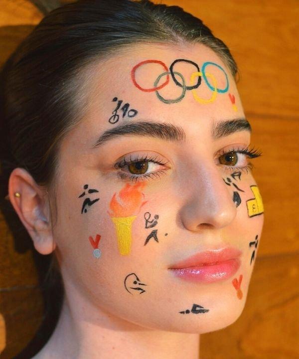 jogos olímpicos 2021 - rotina coreana  - tokyo - maquiagem inusitada  - tendência de beleza  - https://stealthelook.com.br