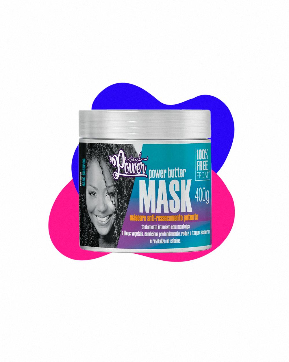 power butter  - crespos e cacheados  - tratamento capilar  - cuidados com os cabelos  - máscara para cabelos crespos  - https://stealthelook.com.br