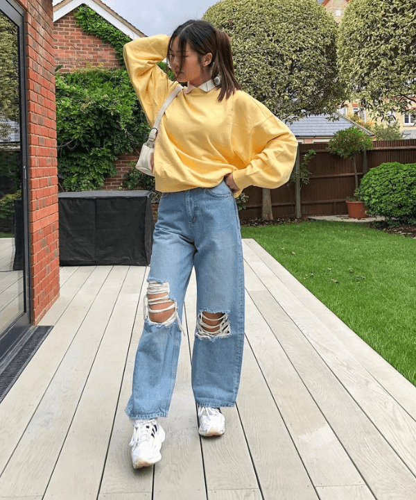 Olivia Yang - Street Style - modelos de calças jeans - Inverno  - Steal the Look  - https://stealthelook.com.br