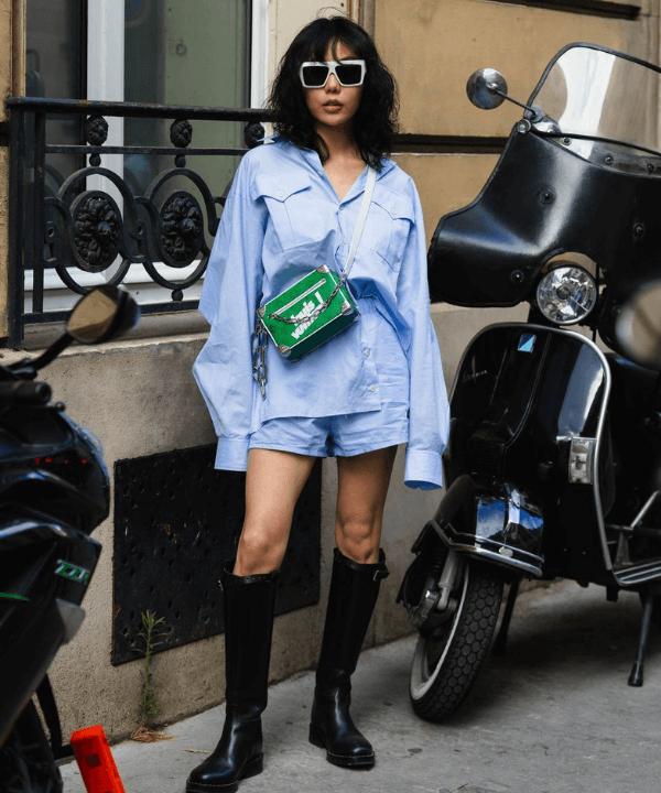 Hapers Bazaar - Street Style - Street Style de Paris - Inverno  - Paris - https://stealthelook.com.br
