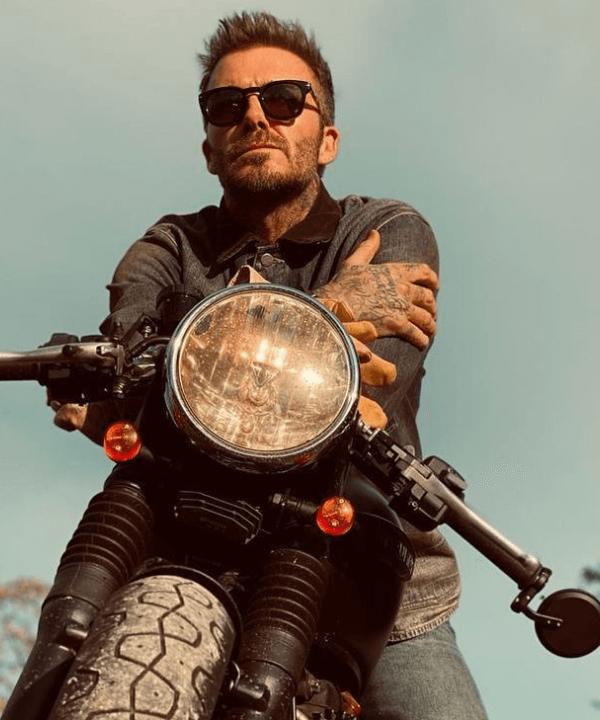 David Beckham - Jaqueta biker - pais famosos - Inverno  - Steal the Look  - https://stealthelook.com.br