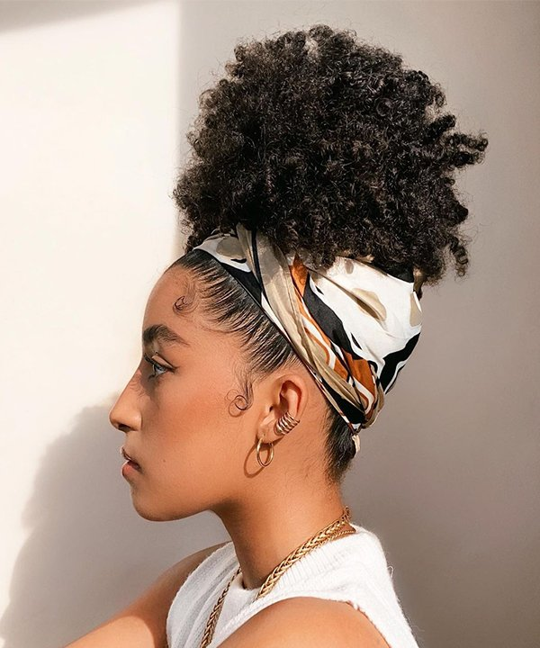 Leal Alexander - penteados - penteados com bandana - inverno - brasil - https://stealthelook.com.br