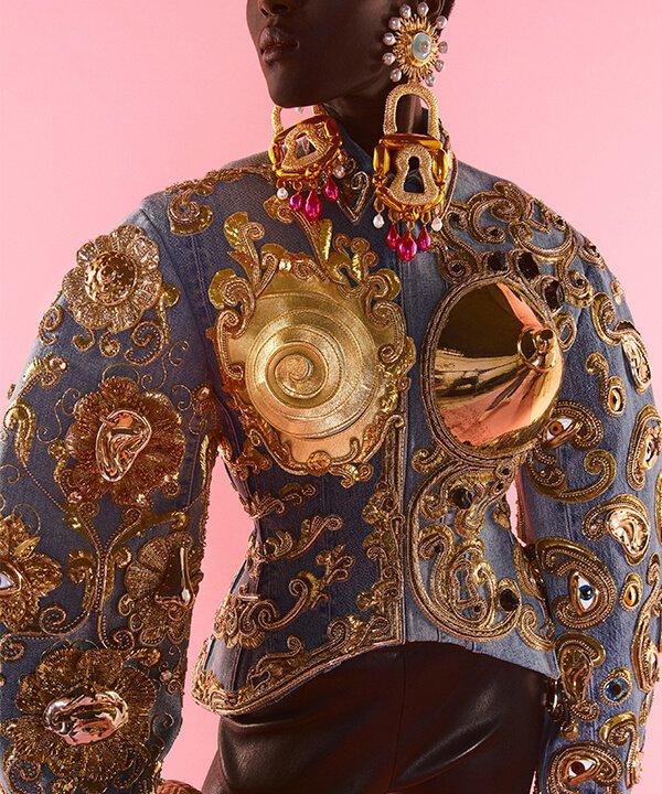 Schiaparelli - 2021 - couture - Outono Inverno - Paris - https://stealthelook.com.br