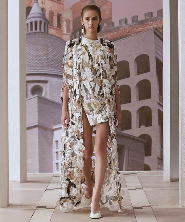 Fendi - 2021 - couture - Semana de Alta-Costura - Paris - https://stealthelook.com.br