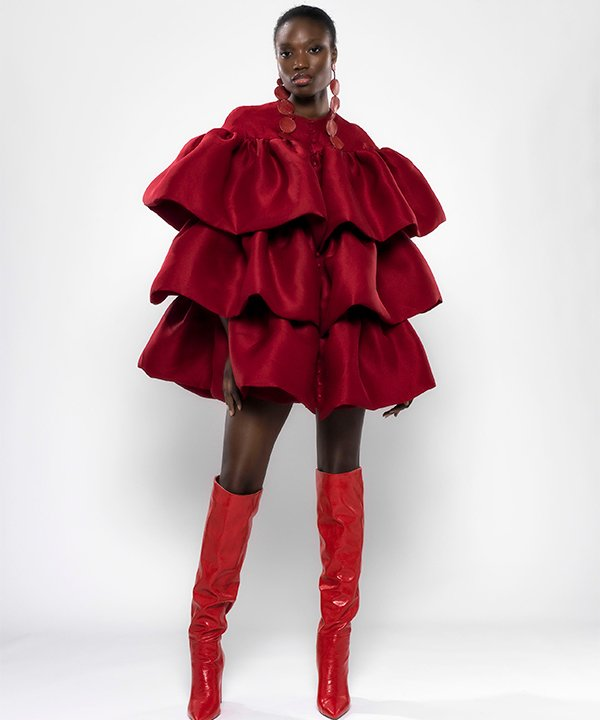 Imane Ayissi - 2021 - couture - Semana de Alta-Costura - Paris - https://stealthelook.com.br