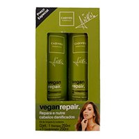 Cadiveu essentials by anitta kit shampoo + condicionador vegan repair