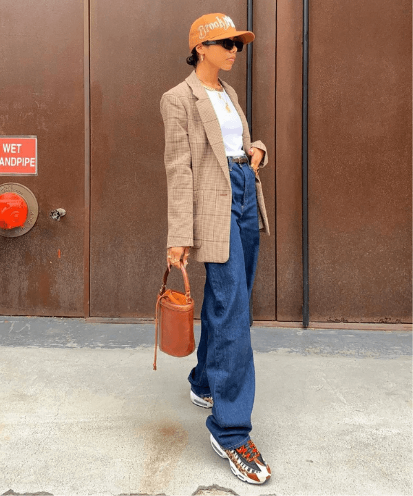 Alana Figueroa - Street Style - wide leg - Inverno  - Steal the Look  - https://stealthelook.com.br